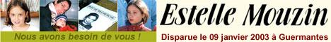 Estelle Mouzin disparue le 9 janvier 2003 à Guermantes (France)